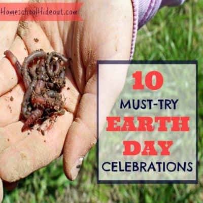 10 fun ideas to celebrate Earth Day!