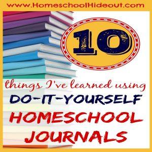 Do It Yourself Homeschool Journal