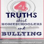 Bullying and Homeschooling