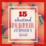 15 Educational Pumpkin Activities