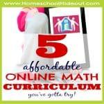 5 Affordable Online Homeschool Math Curriculum