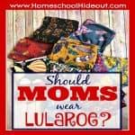 LuLaRoe for Moms? Uh, duh.