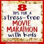 Hold a Movie Marathon with Kids