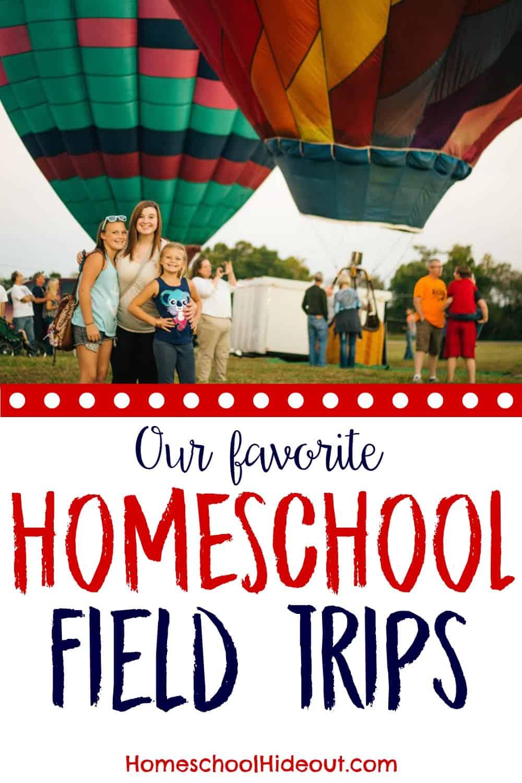 Over 20 genius homeschool field trip ideas!