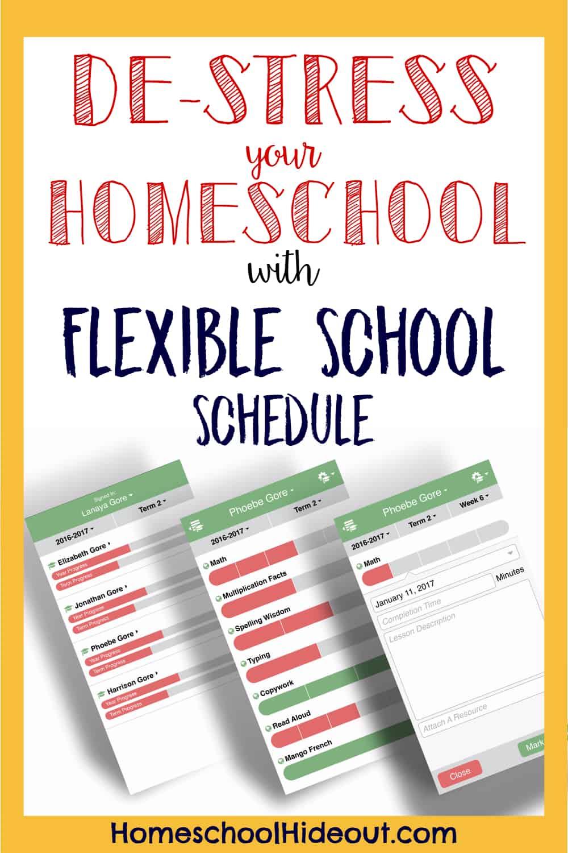 Creating a flexible homeschool schedule has never been so stress-free!