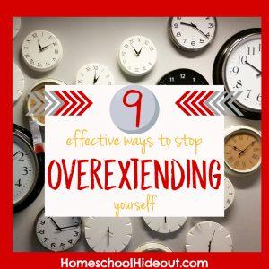 9 effective ways to stop overextending yourself