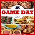 15 Yummy Game Day Snacks