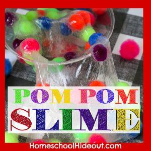 Pom Pom Slime Recipe