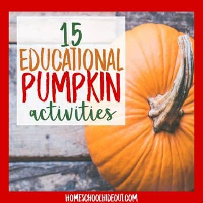 Fast and easy educational pumpkin activities the whole family will love! #fall #kidsactivities #pumpkins #pumpkinslime #autumn #fallfun #handsonlearning