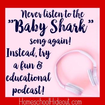 """""""Baby Shark"""" song again!"""
