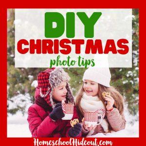 DIY Christmas Family Photos