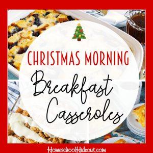 10 Easy Christmas Morning Breakfast Casseroles