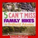 Family Hikes in Northwest Arkansas