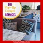 DIY Pop-Up Camper Remodel