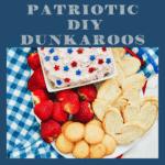 DIY Dunkaroos: 4th of July Edition